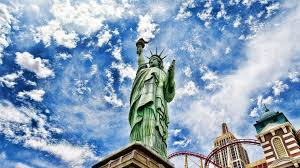 statue of liberty night skyline wallpaper hd wallpapers