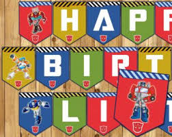 printable transformers birthday banner free printable transformers birthday banner jameson s 5th