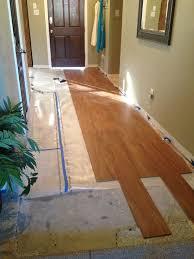 Where To Start Laminate Floor Installation I U0027m Floored U2013 Front Hall Makeover Single Mom Thriving