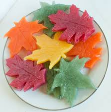 leaf soaps thanksgiving soap leaves fall soap autumn