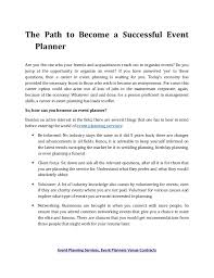 how to be a party planner event planning services event planners venue contracts