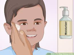 theatrical makeup school how to do stage makeup on kids 11 steps with pictures wikihow