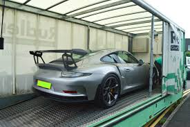 new porsche 911 gt3 taking delivery of an insane new porsche 911 gt3 rs in gt silver