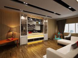 Living Room Interior Design Concept Trend Condo Singapore - Living room design singapore