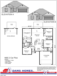 House For Plans South Pointe Adams Homes