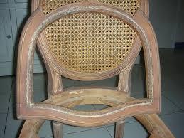 refaire l assise d une chaise les chaises cannées de régine métamorphoser votre intérieur