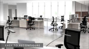 Open Plan Office Furniture by Office Workstations Mayline E5 Open Plan Office Uncubicle