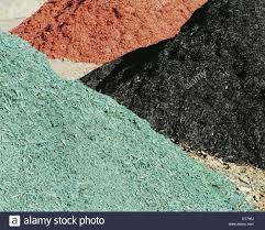 Landscaping Wood Chips by Piles Of Multi Colored Bark Wood Chips Used For Landscaping Near