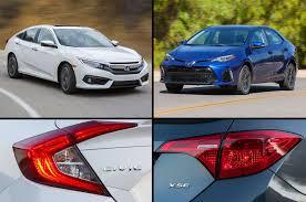 honda civic crowned top car car compare 2017 honda civic vs 2017 toyota corolla motor trend
