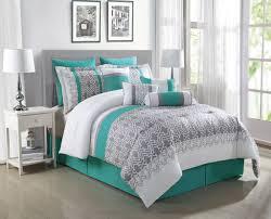 Pixel Comforter Set Teal Bedding Sets Queen Whistler Comforter Set Hiend Accents Gray