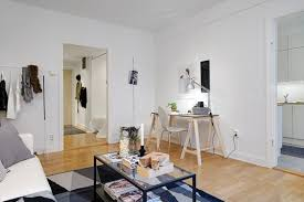 Tiny Swedish Apartment Showcases How To Decorate Small Living - Swedish apartment design