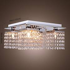 Lighting Fixtures Chandeliers Lightinthebox Crystal Ceiling Light With 5 Lights Electroplated