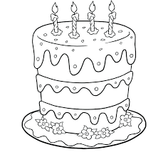 coloring pages for birthdays printables birthday cake coloring pages birthday cake coloring pages free