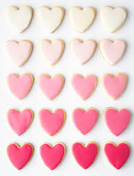 heart shaped cookies s day heart shaped sugar cookies recipe