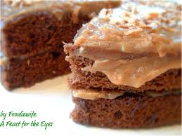 a feast for the eyes guilt free german chocolate cake that tastes