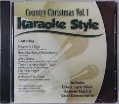 country music karaoke free country christmas volumes 1 6 set karaoke style new cd g daywind 36