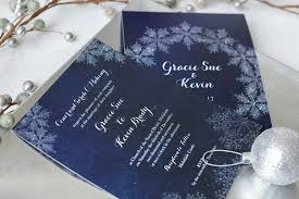 Snowflake Wedding Invitations Winter Wedding Invitation Inspiration Wedding Stationery From