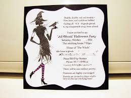 Good Halloween Poems Cute Halloween Party Card With Space For Text Royalty Free Which