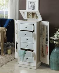 Jewelry Armoire Antique White Jewelry Armoires Discount Jewelry Boxes In Los Angeles