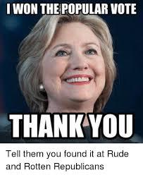 Meme Popular - 25 best memes about popular vote popular vote memes