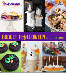 Cheap Halloween Appetizers by Easy Fun And Budget Friendly Halloween Favors And Treats