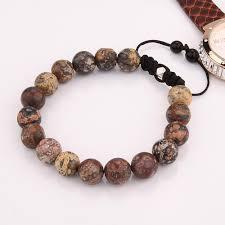 bracelet natural stone images Bangle bracelet natural stone beads yoga bangle bracelet for jpg
