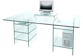 Glass Corner Desk Corner Glass Computer Desk Medium Size Of Computer Frame Glass And