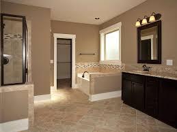 master bathroom color ideas master bathroom add tile flooring frame the mirror stain the