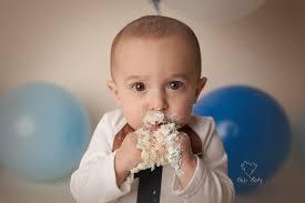 baby photographers birthday cake smash columbus ohio baby photographer bare