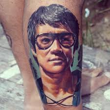 bruce lee tattoo more information