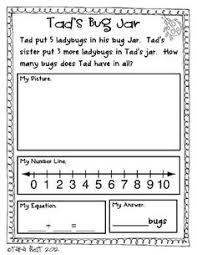 best solutions of kindergarten math word problem worksheets for