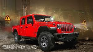 jeep wrangler pickup black jeep scrambler pickup artist renderings show an evolving design