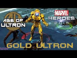 ultron costume marvel heroes golden ultron age of ultron costume gameplay with