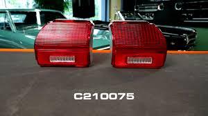 68 chevelle tail lights opgi product spotlight 1969 chevelle tail light lenses youtube
