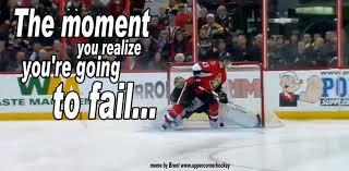 Hockey Goalie Memes - kaspars daugavins crazy shootout attempt on tuukka rask upper