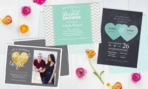 wedding invitations staples custom invitations from staples staples groupon