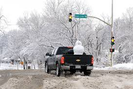 Winter Lane Light Flurries by The 6 Types Of Sioux Falls Drivers You Deal With Every Winter