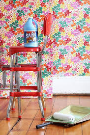 easy remove wallpaper for apartments how to hang fabric as wallpaper apartment therapy therapy and