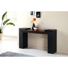 Black Gloss Console Table Modern Leather Console Table Interiors Fearsome Photos Design