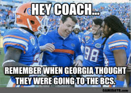 Georgia Bulldog Memes - remember when the georgia bulldogs thought they were bcs bound