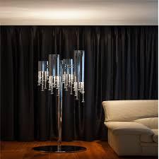 Floor Lamp With Crystals Crystals F4 Floor Lamp Lighting Design Consultancy