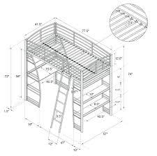 bunk bed measurements bunk beds bunk bed measurements product beds ikea vradal loft