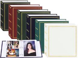 magnetic photo albums tr 100 self adhesive magnetic 3 ring photo album