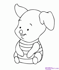 easy baby disney coloring pages coloring home