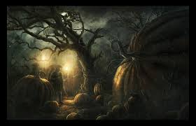 halloween wallpaper for computer 1680x1050 halloween scarecrow set