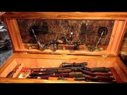 coffee table gun cabinet remote unlocking weapons storing coffee table w hidden drawer youtube