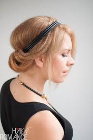headband styler how to do a chic rolled updo hair