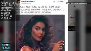 Vanity From Vanity 6 Denise U0027vanity U0027 Matthews Dead At 57 Pop Singer Actress And