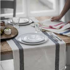 Grey Chevron Table Runner Dining Table Runners Notonthehighstreet Com