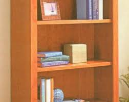 Bookshelf Woodworking Plans by Bookshelf Etsy